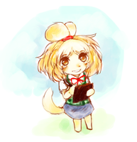 Isabelle by AmongOtaku