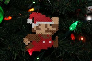 Christmas Mario by CoolNerdGirl1