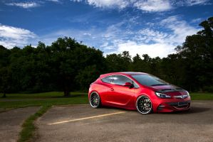 Opel Astra GTC by alemaoVT