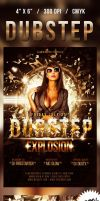 Dubstep Flyer by nadaimages