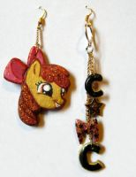 Apple Bloom earrings by Adlynh