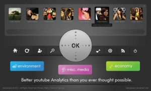 Youtube Application Interface by hamzahamo