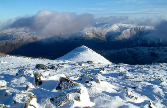 Snowy Mountains by scotto