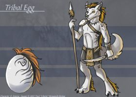 The Tribal Egg - Adoptable by Ulario