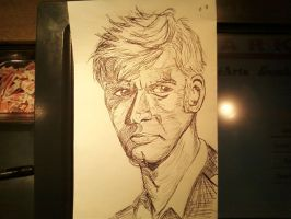 10th Doctor - Ink by PaulSkywalker
