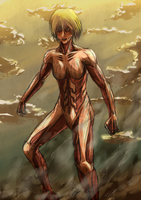 Female Titan by ronri