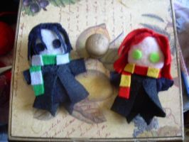 Hurray for snape and lily by ligea