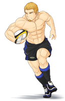 PeCS SportSexy - Rugby by zephleit