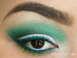 Midori Green Makeup by NaturallyErratic