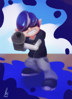 Blue Inkling by lurils