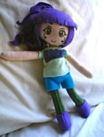 Rekka Plushie by dollphinwing