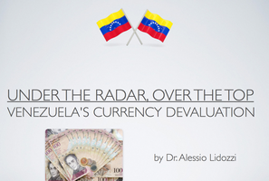 Alessio Lidozzi - Venezuela's Currency Devaluation by alessiolidozzi