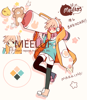 Meelkos #6: Auction [CLOSED] by Meeluf