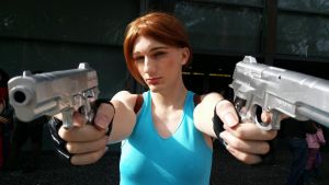 Lara Croft Crossplay 7 by EmperorMossy