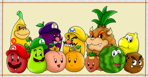 Super Mario Fruits by SuperLakitu