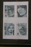 Final fantasy stamps project by TRlCKS