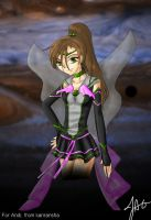Sailor Black Jupiter by Kanransha