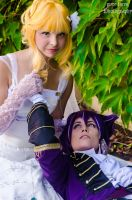 Beast Master and Prince - Silvio and Tiana by pure-faces