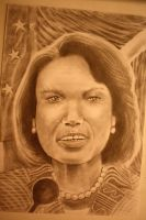 Condi Rice by CaptainBoss