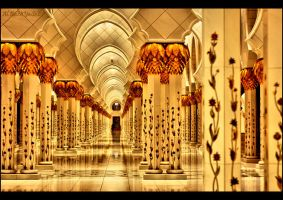 Sheikh Zayed Mosque ..2 by BANIYAS