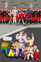 Street Fighter: Call of a Hero by Trey-Vore