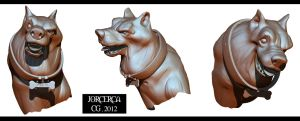 MY DOG CARTOON 3D by jorcerca