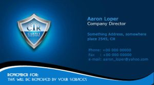 ctr business card by muchma