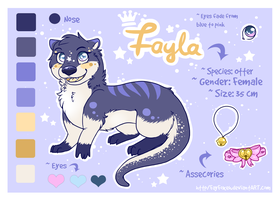 Fayla Reference Sheet 02 by Fayven