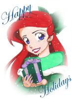 Happy Holidays from Ariel by Jupta