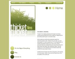 Thicket Films Website by netzephyr
