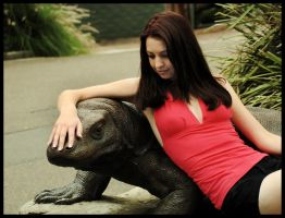 Kathryn at the zoo 2 by wildplaces