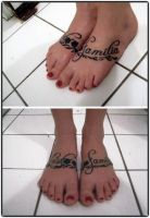 Family Feet by truth-is-absolution