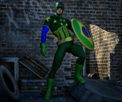 Captain Brasil 2nd skin textures for M4 by hiram67