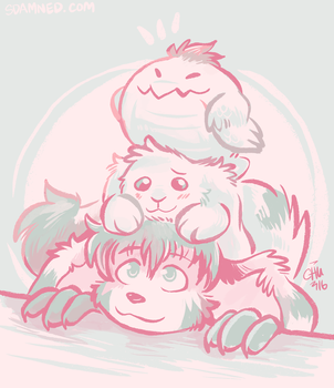 A Pile of Pals by raizy