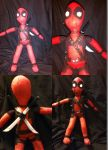 Dollpool (Deadpool Plush) by Hallow-Quinn