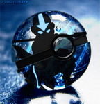 Animation: Avatar Aang Pokeball by GlitchCity