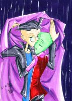 Caught in the Rain - ZADR by PiccoGirl
