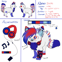 .:Ref-Sheet:. Beat by oOCupcakeOo