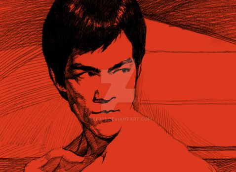 Bruce Lee-8 by kse332