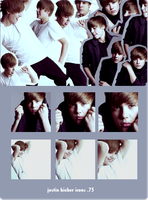 justin icons 12 by 5o5ha