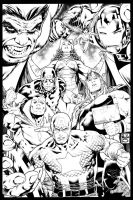 AVENGERS by PauloSiqueira