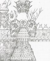 A fantastic castle, not yet finished XD by goodsnake