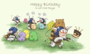 Dota 2 - HBD to our Mid Player by ZequeL