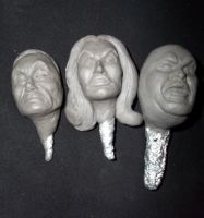 Plan 9 Sculptures by ayelid