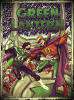 green lantern vs green lantern by namorsubmariner