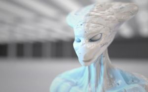 Another 3D alien by MrChrizpy