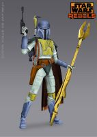 Rebels Boba Fett (Star Wars Fan Art) by Brian-Snook
