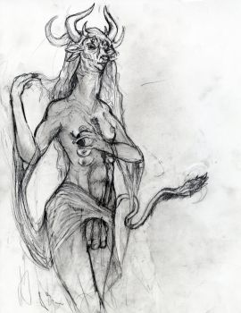 Asmodeus Ruler of Lust Concept art by Shadowdoc9891