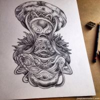 pencil series 3/10 by dehydrated1