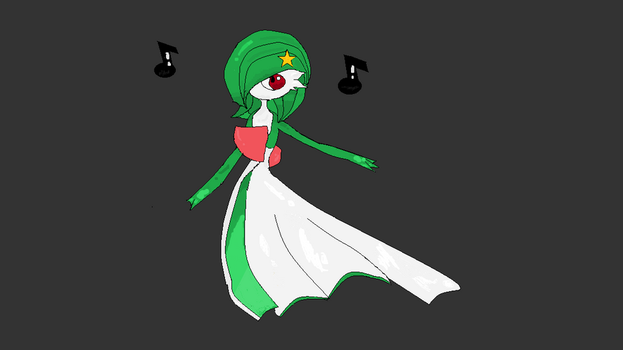 Gardevoir by PhantomRealm